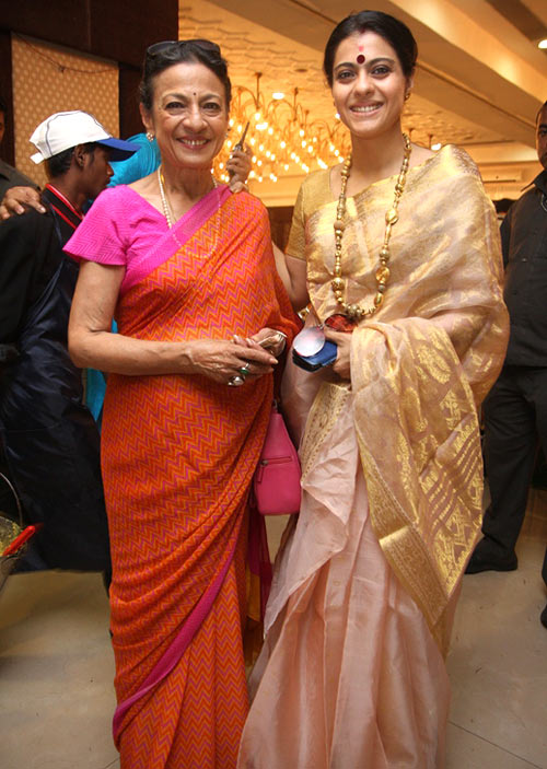 Tanuja and Kajol