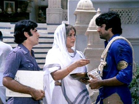 A scene from Deewar