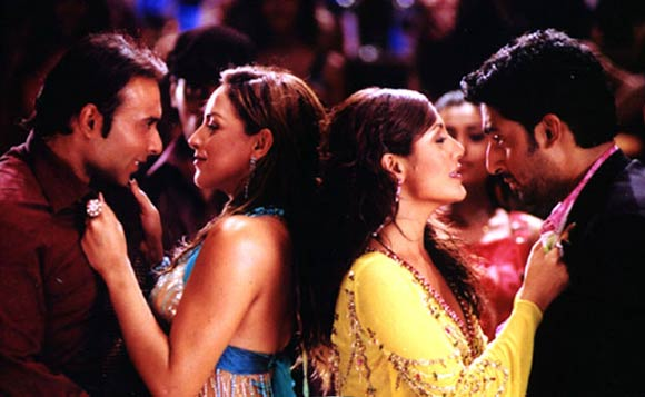 A scene from Dhoom