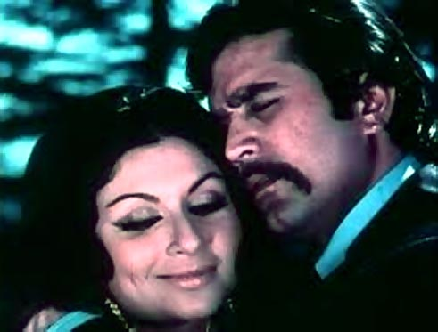 A scene from Daag