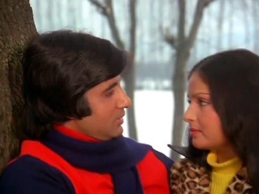 A scene from Kabhi Kabhie