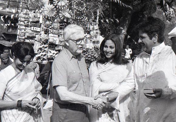 Waheeda Rahman, Robert Wise, Rati Agnihotri and Dilip Kumar
