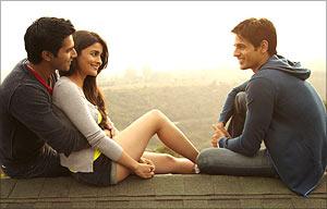 Varun Dhawan, Alia Bhatt and Siddharth Malhotra in SOTY