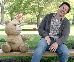 A scene from Ted