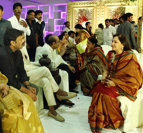 Chiranjeevi and Jaya Prada