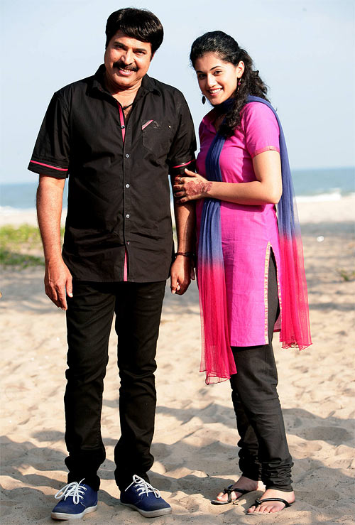 Mammootty and Taapsee