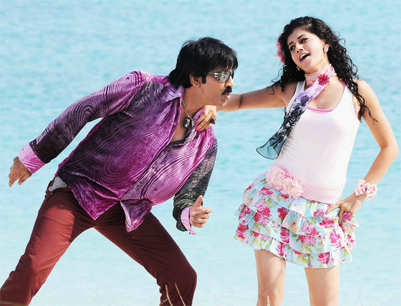 Ravi Teja and Tapsee