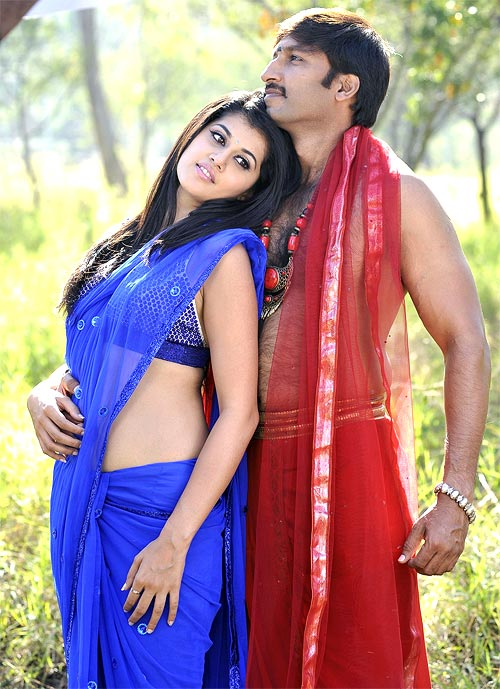 Taapsee and Gopichand in Mogudu