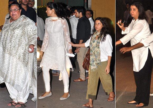 Honey Irani, Sameera Reddy, Zoya Akhtar and Farah Khan