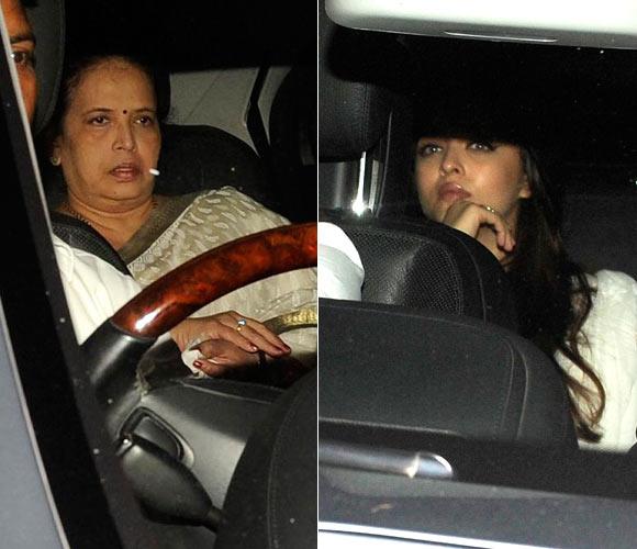 Aishwarya Rai Bachchan and Vrinda Rai