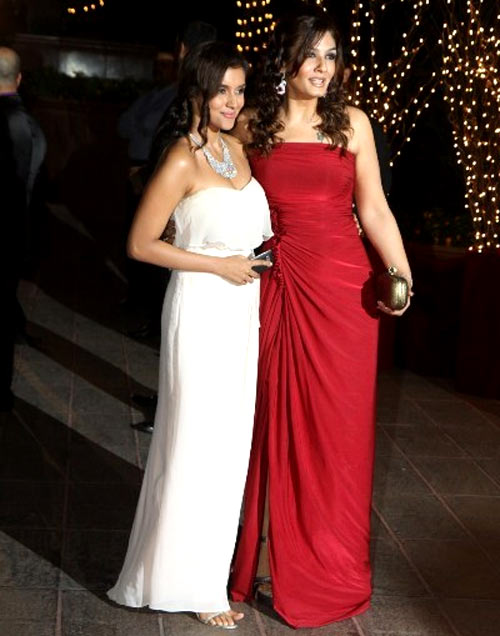 Asin and Raveena Tandon