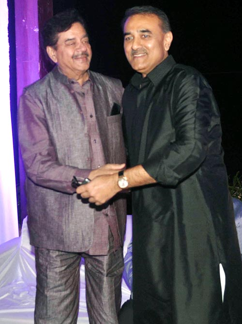 Shatrughan Sinha and Praful Patel