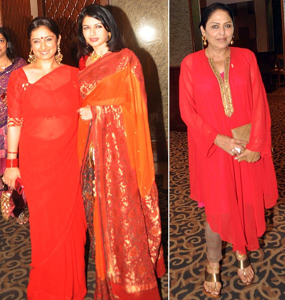 Divya Dutta, Bhagyashree and Anju Mahendru