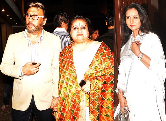 Jackie Shroff, Reena Roy and Poonam Dhillon