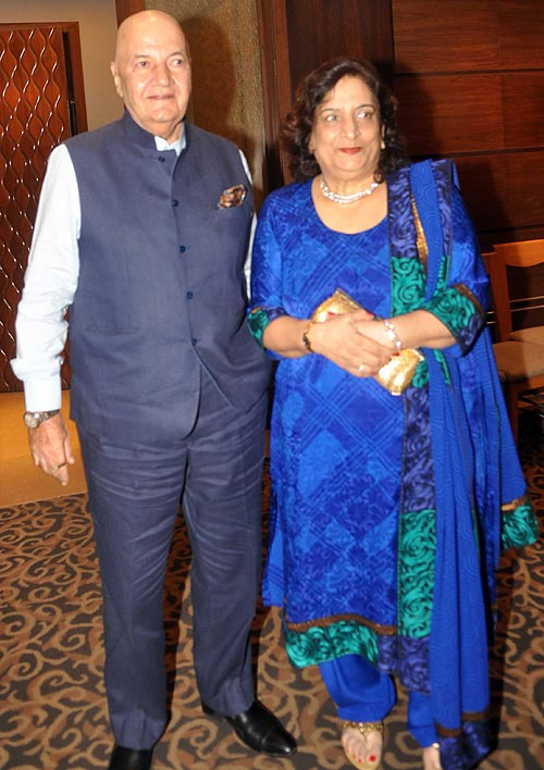 Prem Chopra and wife Uma