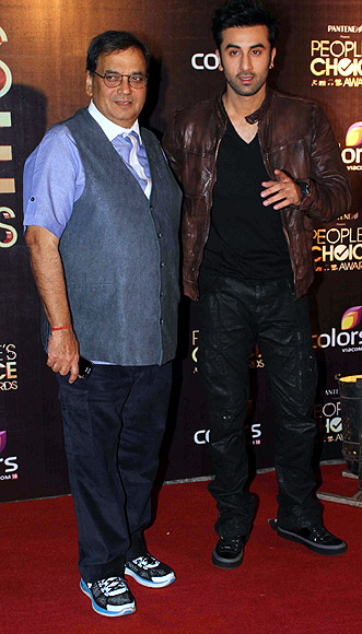 Subhash Ghai and Ranbir Kapoor