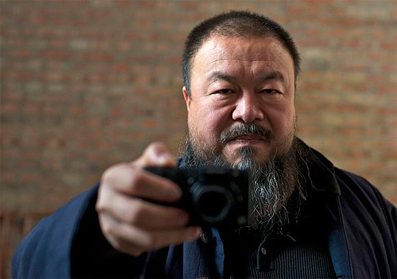 A scene from Ai Weiwei: Never Sorry