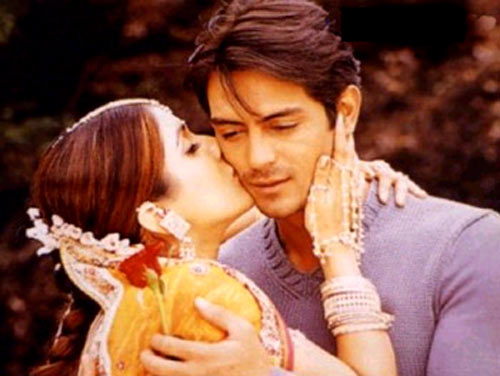 Kirti Reddy and Arjun Rampal in Pyaar Ishq Aur Mohabbat