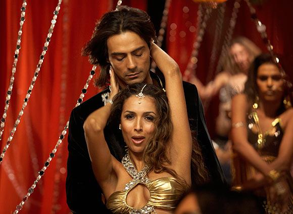 Arjun Rampal and Malaika Arora Khan in EMI