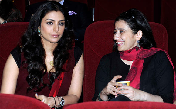 Tabu and Manisha Koirala