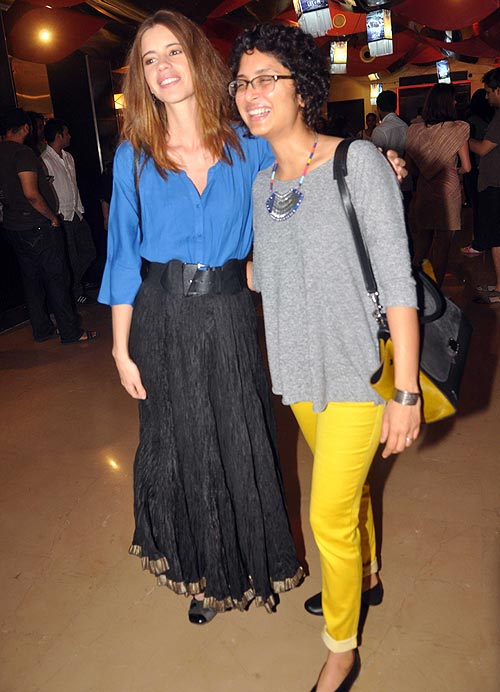 Kalki Koechlin and Kiran Rao