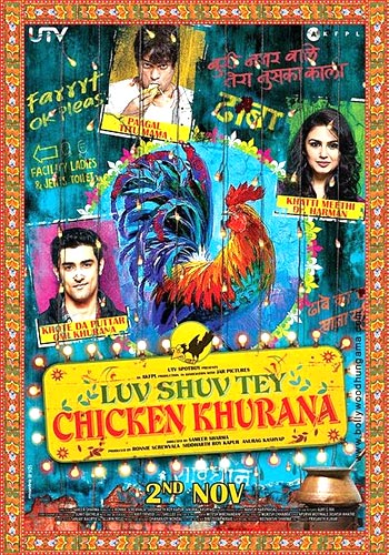 Movie poster of Luv Shuv Tey Chicken Khurana