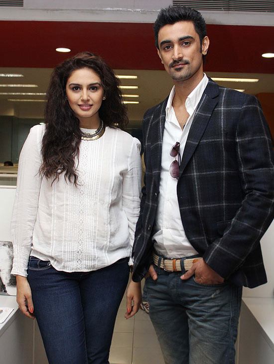 Huma Qureshi and Kunal Kapoor