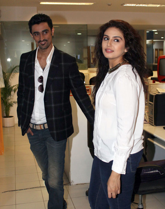 Kunal Kapoor and Huma Qureshi