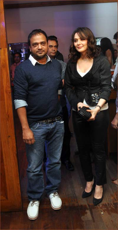 Sajid and Preity Zinta