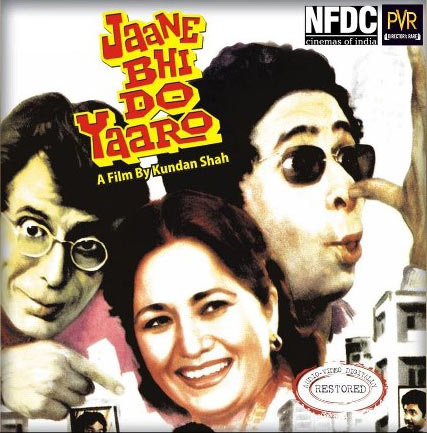 Movie poster of Jaane Bhi Do Yaaro