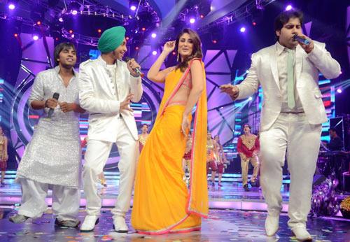 Amit Kumar, Devendra Pal Singh, Kareena Kapoor and Vipul Mehta