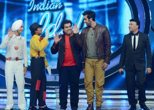 Vipul Mehta, Ranbir Kapoor and Anu Malik