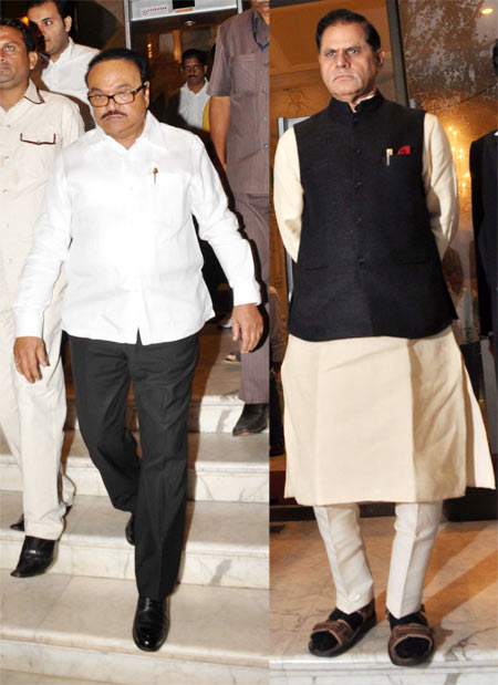 Chhagan Bhujbal and T Subbarami Reddy