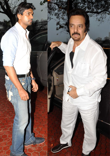 Nikhil Dwivedi and Akbar Khan
