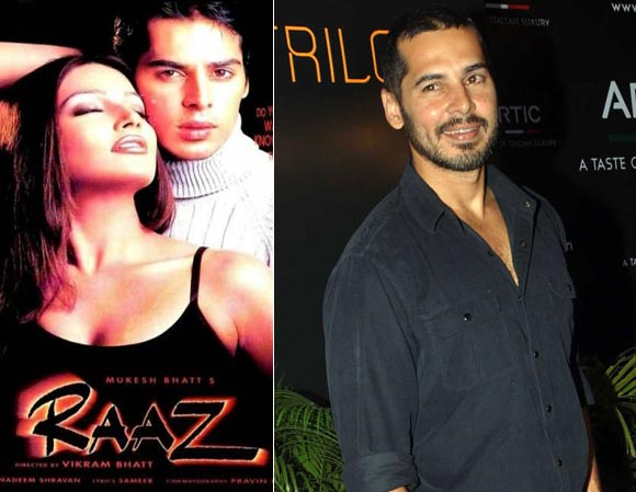 Dino Morea in Raaz, Right: Photographed recently