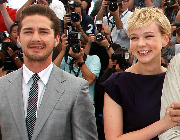 Shia Lebouf and Carey Mulligan