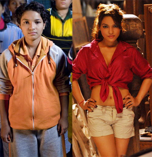 Chitrashi Rawat in Chak De! India, and now