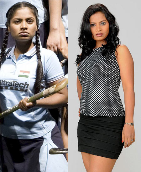 Seema Azmi in Chak De! India, and now