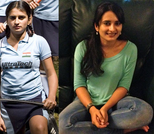 Arya Menon in Chak De! India, and now