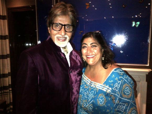 Amitabh Bachchan and Gurinder Chaddha