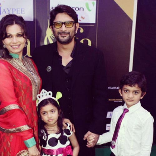 Maria Goretti, Arshad Warsi and their children