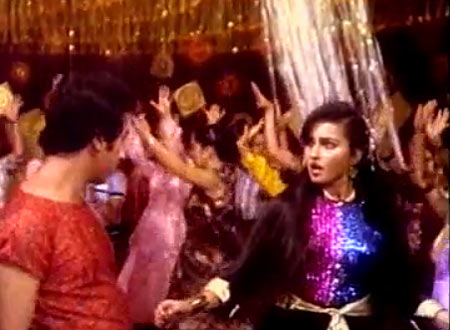 Kamal Haasan and Reena Roy in Sanam Teri Kasam