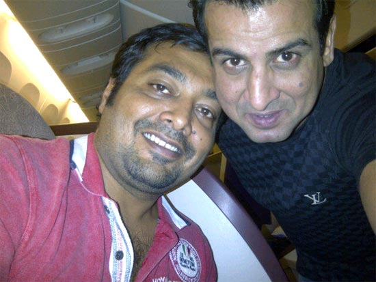 Ronit Roy and Anurag Kashyap
