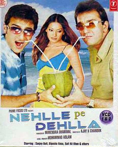 Movie poster of Nehle Pe Dehla