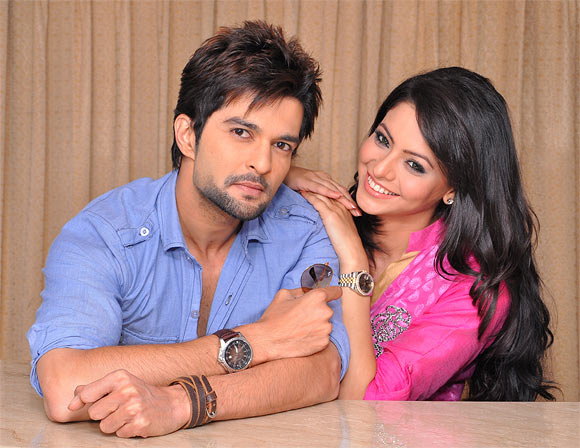 Raqesh Vashisth and Aamna Sharif in Honge Juda Na Hum