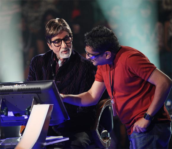 RD Tailang with Amitabh Bachchan
