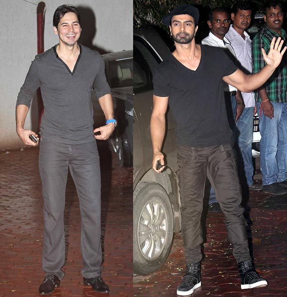 Ashmit Patel and Dino Morea