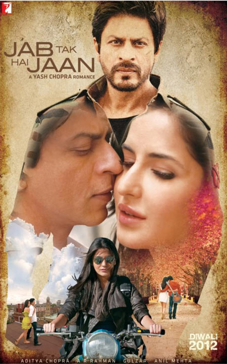 Movie poster of Jab Tak Hai Jaan