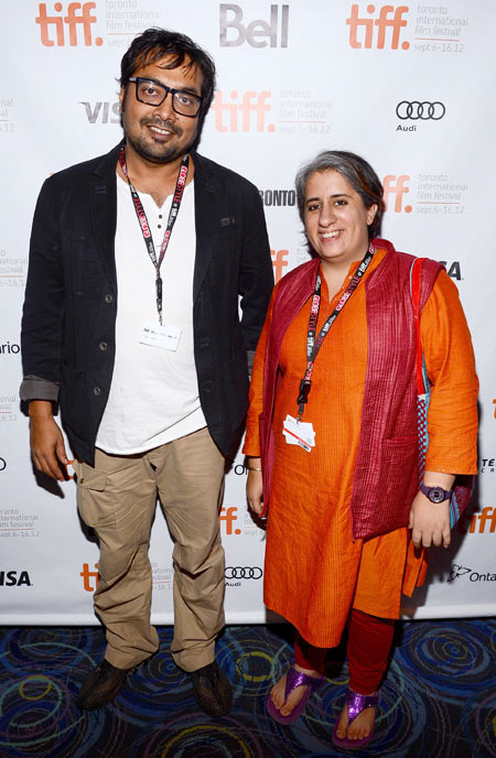 Anurag Kashyap and Guneet Monga