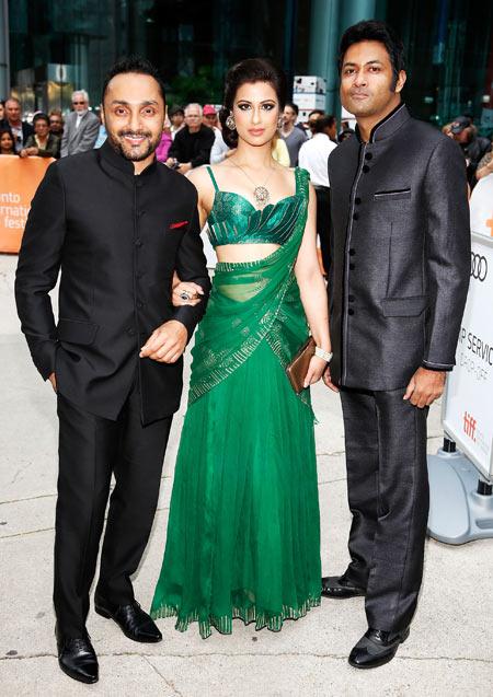 Rahul Bose, Anita Majumdar and Samrat Chakrabarti